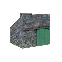 Narrow Gauge Slate Built Coal Store
