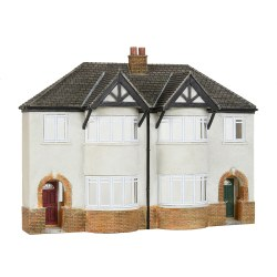 Low Relief 1930s Semi Detached Houses
