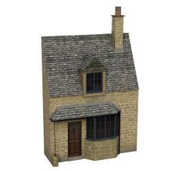 Low Relief Honey Stone Cottage