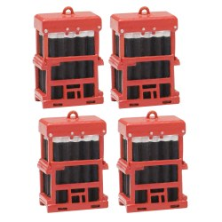 Caged Gas Bottles (x4)