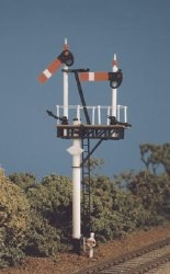 GWR Round Post 1 set Bracket/Junction. Signals
