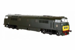 Class 52 D1035 'Western Yeoman' BR Green with Small Yellow Panel