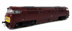 Class 52 D1034 'Western Dragoon' BR Maroon with Small Yellow Panel