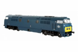 Class 52 D1043 'Western Duke' BR Chromatic Blue with Small Yellow Ends Large Double Arrows