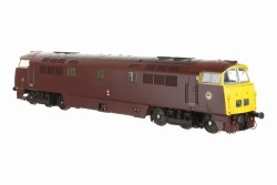 Class 52 D1016 'Western Gladiator' BR Maroon with Full Yellow Ends