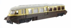Streamlined Railcar 10 Lined Chocolate & Cream GWR Monogram