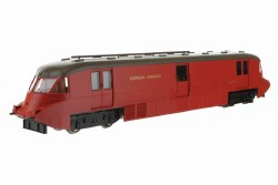 Streamlined Railcar 17 Express Parcels Crimson