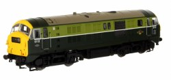 Class 29 6112  BR Two Tone Green with Full Yellow Ends