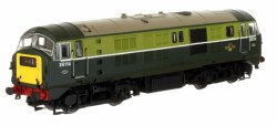 Class 29 D6114 BR Two Tone Green with Small Yellow Panels