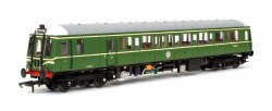Class 122 BR Green 55018 with Speed Whiskers