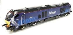 Class 68 Daring 68006 Scotrail Late Modified