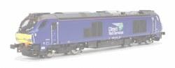 Class 68 68026 DRS Plain Blue