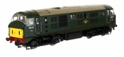 Class 21 Bo-Bo D6111 BR Green with Small Yellow Panels DCC