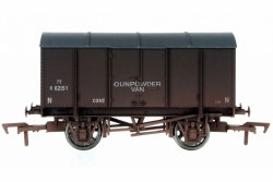 Gunpowder Van SR 62151 Weathered