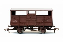 Cattle Wagon BR B893324 Weathered