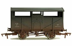 Cattle Wagon GWR 13830 Weathered