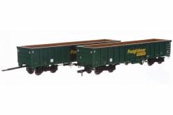 MJA  Freightliner Heavy Haul Bogie Box Van 502013 & 014