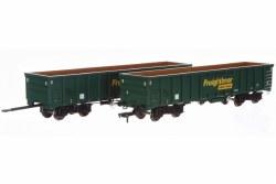 MJA  Freightliner Heavy Haul Bogie Box Van 502047 & 048
