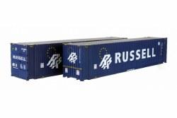 45 Ft C'tnr Hi Cube Russell 459644 6 / 459677 0