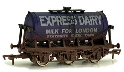 6 Wheel Milk Tanker Express Dairy 'E' Weathered