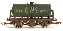 6 Wheel Milk Tank CWS Weathered