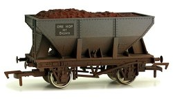 24T Steel Ore Hopper Wagon B433419 BR Grey Weathered