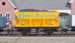 24T Steel Ore Hopper Wagon Cadbury Bournville Weathered