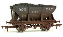 24T Steel Ore Hopper Wagon BISC Iron Ore Weathered