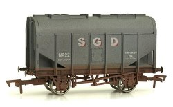 Bulk Grain Hopper 22 SGD Weathered