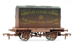 Conflat & Container GWR K-1674 Weathered