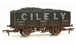 20T (21T glw) Steel Mineral Wagon Cilely Collieries Limited Weathered