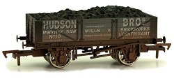 4 Plank Wagon Hudson Bros Weathered