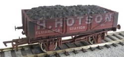 4 Plank Wagon H Hotson 22 Weathered