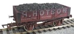 4 Plank Wagon H Hotson 22 Weathered