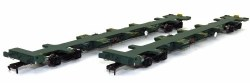 FEA-B Spine Wagon Twin Pack OO Freightliner 640177+ 640178