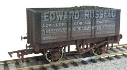 7 Plank 9 Ft W/B  Edward Russell 143 Weathered