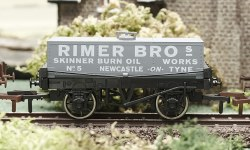 Rimer Bros Rectangular Tank Wagon