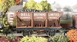 24T Steel Ore Hopper Bell Bros