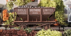 24T Steel Ore Hopper Bell Bros Weathered