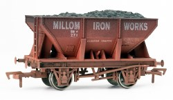 24T Steel Ore Hopper Millom Iron Works Weathered