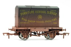 Conflat and Container GWR Weathered