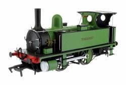 B4 0-4-0T Guernsey Dark Green lined