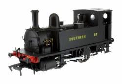 B4 0-4-0T Southern Wartime Black 87