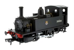 B4 0-4-0T BR Early Crest Black 30084