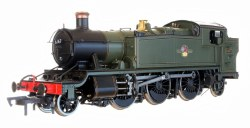 51xx Prairie 2-6-2 6167 BR Lined Green Late Crest, Bunker Steps