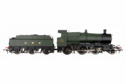 4300 Mogul 2-6-0 GWR Green with GWR & BR Smoke Box Number Plate