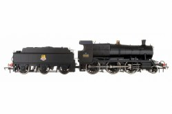 4300 Mogul 2-6-0 7324 BR Black Early Emblem