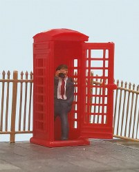 Telephone Box & Caller