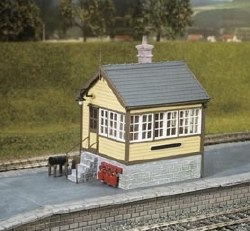 Platform or Ground Level Signal Box