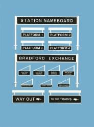 Platform Signage